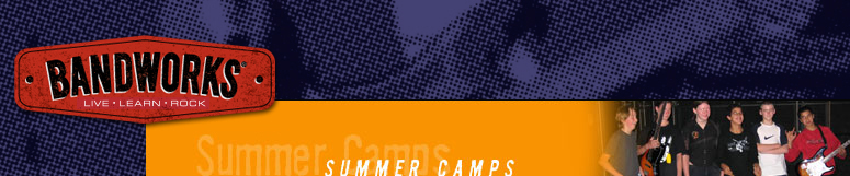 BandWorks Summer Camp